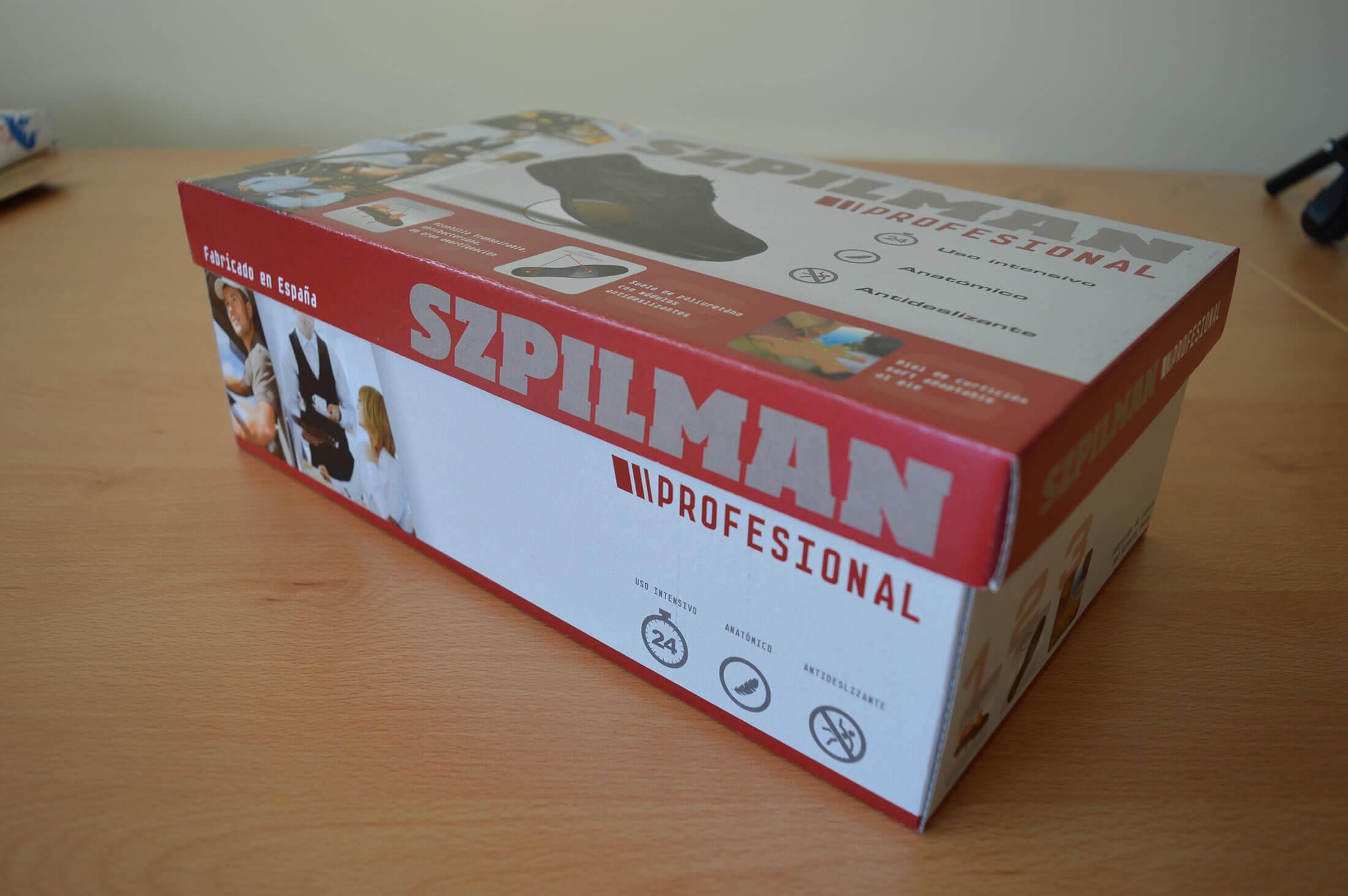 Caja de calzado para Szpilman