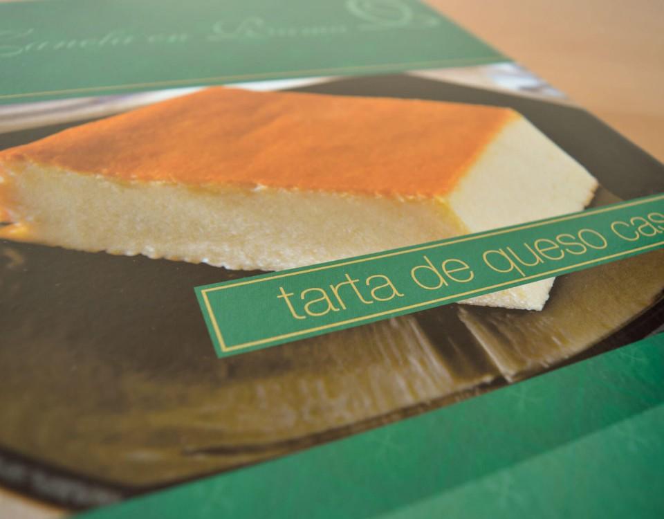 Tarta de queso La Ajofrinera