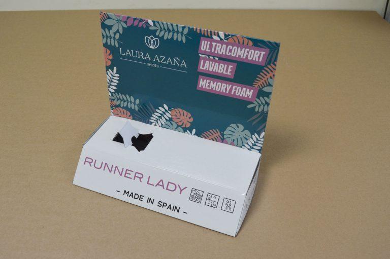 Display Runner Lady para Laura Azaña