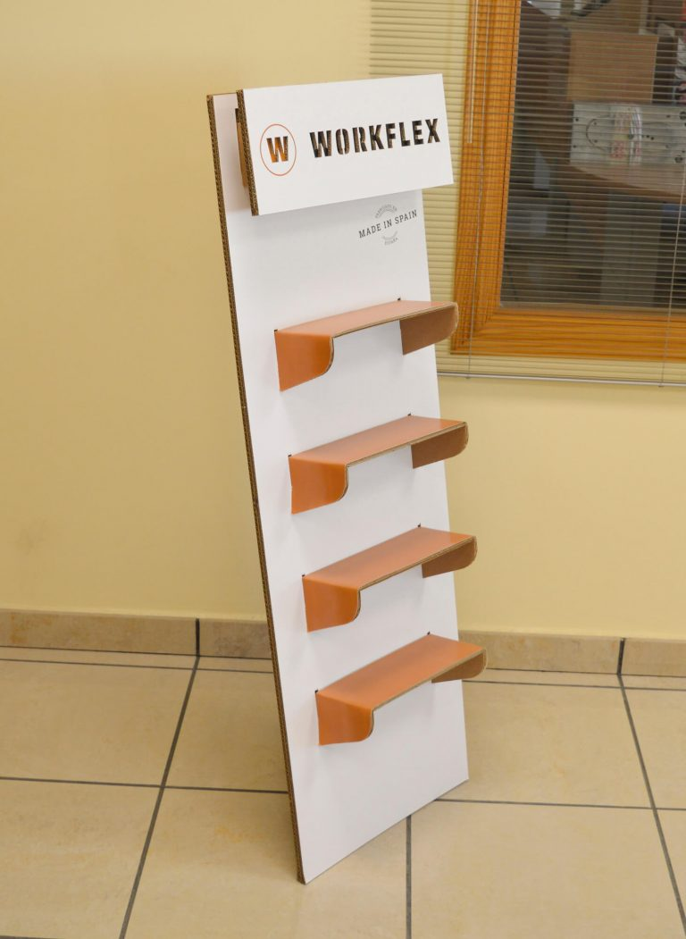 Display Workflex para Luisetti