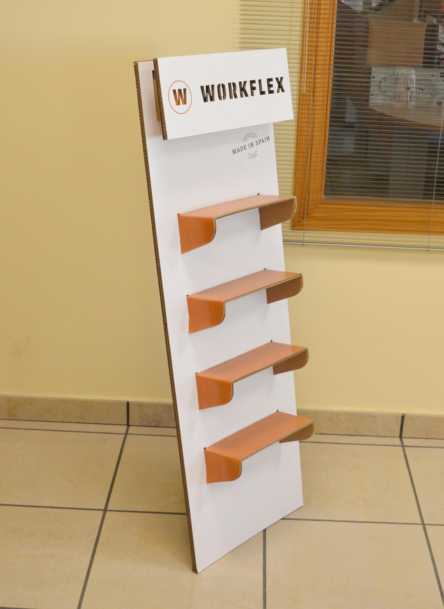Display Workflex para Luisetti